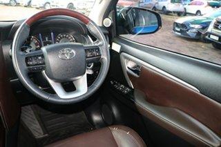 2015 Toyota Fortuner GUN156R Crusade Blue 6 Speed Automatic SUV