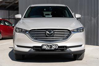 2021 Mazda CX-8 KG2WLA Sport SKYACTIV-Drive FWD Platinum Quartz Metallic 6 Speed Sports Automatic.