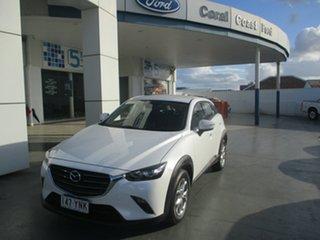 2018 Mazda CX-3 DK MY17.5 Maxx (FWD) (5Yr) White 6 Speed Manual Wagon.