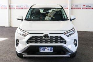2020 Toyota RAV4 Mxaa52R GXL 2WD Glacier White 10 Speed Constant Variable Wagon.