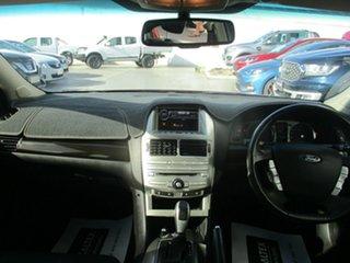 2008 Ford Falcon FG G6E Red 6 Speed Automatic Sedan