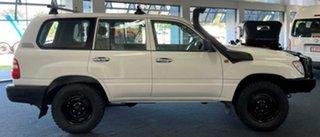 2004 Toyota Landcruiser HZJ105R Standard White 5 Speed Manual Wagon.