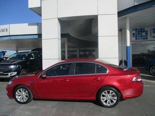 2008 Ford Falcon FG G6E Red 6 Speed Automatic Sedan.