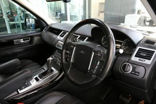 2013 Land Rover Range Rover Sport L320 MY13.5 HSE Luxury Black Black 6 Speed Sports Automatic Wagon.