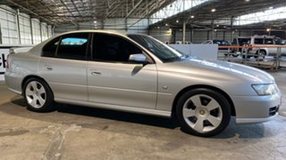 2006 Holden Commodore VZ MY06 SVZ Silver 4 Speed Automatic Sedan.