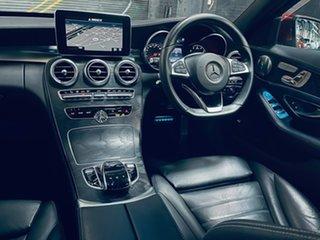 2016 Mercedes-Benz C-Class W205 806+056MY C250 7G-Tronic + Red 7 Speed Sports Automatic Sedan.