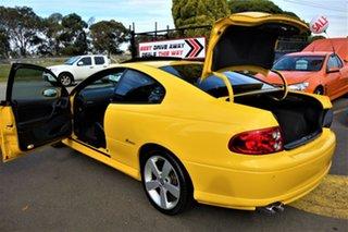 2003 Holden Monaro V2 Series III CV8 Yellow 6 Speed Manual Coupe