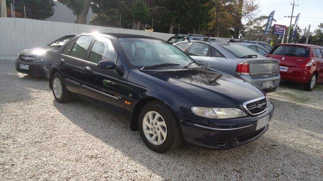 Used Ford Fairmont EL Ghia Seaford, 1997 Ford Fairmont EL Ghia Blue 4 Speed Automatic Sedan