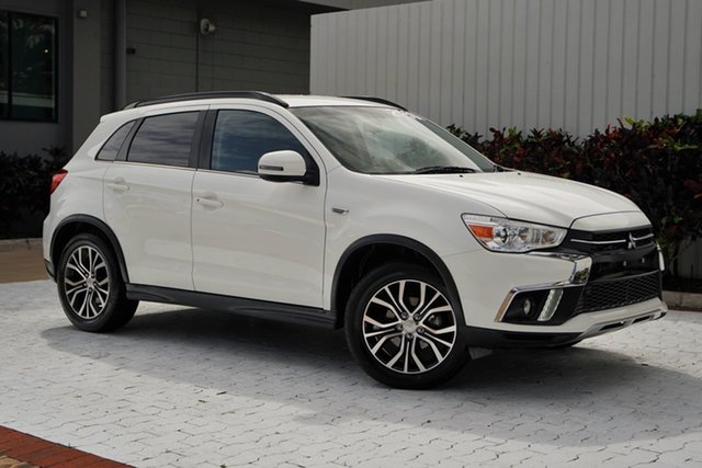 Used Mitsubishi ASX XC MY18 LS 2WD Cairns, 2018 Mitsubishi ASX XC MY18 LS 2WD White 1 Speed Constant Variable Wagon