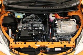 2017 Toyota Prius c NHP10R MY15 Hybrid Orange Continuous Variable Hatchback