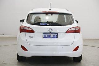 2015 Hyundai i30 GDe3 Series II MY16 Tourer DCT Polar White 7 Speed Sports Automatic Dual Clutch