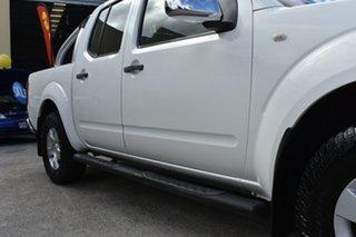 2006 Nissan Navara D40 ST-X (4x4) White 6 Speed Manual Dual Cab Pick-up