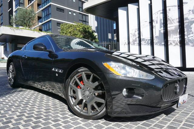 Used Maserati Granturismo M145 East Brisbane, 2010 Maserati Granturismo M145 Nero Black 6 Speed Sports Automatic Coupe