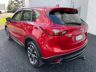 2016 Mazda CX-5 KE1022 Grand Touring SKYACTIV-Drive i-ACTIV AWD Red 6 Speed Sports Automatic Wagon
