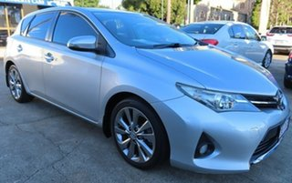 2013 Toyota Corolla ZRE182R Levin SX Silver 6 Speed Manual Hatchback.