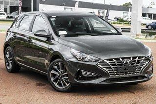 2021 Hyundai i30 PD.V4 MY21 Active Grey 6 Speed Sports Automatic Hatchback.