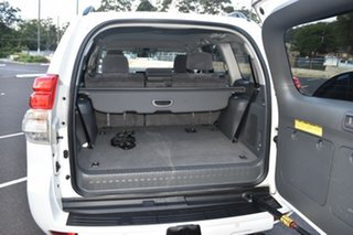 2012 Toyota Landcruiser Prado GRJ150R GXL White 5 Speed Sports Automatic Wagon