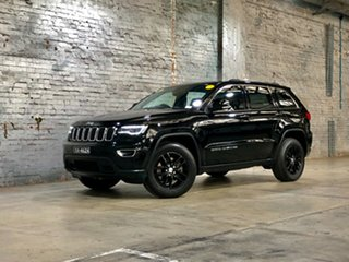 2016 Jeep Grand Cherokee WK MY17 Laredo 4x2 Black 8 Speed Sports Automatic Wagon.