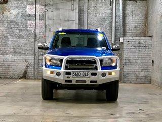 2011 Ford Ranger PK Wildtrak Crew Cab Blue 5 Speed Automatic Utility.