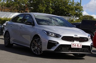 2019 Kia Cerato BD MY19 GT DCT Silver 7 Speed Sports Automatic Dual Clutch Hatchback.