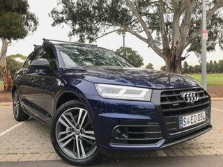 2019 Audi Q5 FY MY19 50 TDI Tiptronic Quattro Sport Blue 8 Speed Sports Automatic Wagon.