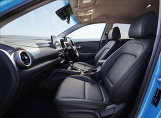 2020 Hyundai Kona Os.v4 MY21 Elite (FWD) Dive in Jeju Continuous Variable Wagon.