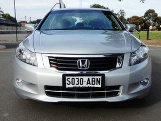 2009 Honda Accord 8th Gen 40th Anniversary Silver 5 Speed Sports Automatic Sedan.