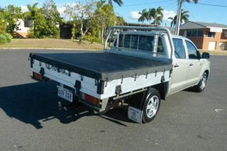 2013 Toyota Hilux GGN15R MY12 SR Double Cab 4x2 Grey 5 Speed Automatic Utility.