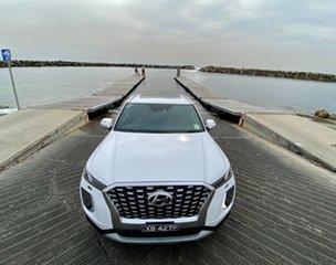 2021 Hyundai Palisade LX2.V1 MY21 Highlander (8 Seat) White Cream 8 Speed Automatic Wagon