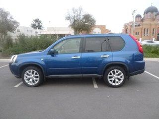 2010 Nissan X-Trail T31 TL Blue Sports Automatic Wagon.