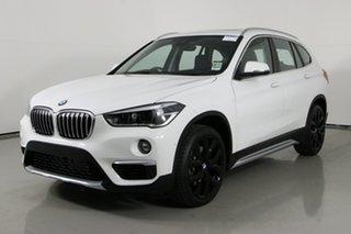 2019 BMW X1 F48 MY19 xDrive 25I White 8 Speed Automatic Wagon.