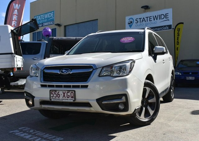 Used Subaru Forester MY17 2.0D-L Capalaba, 2017 Subaru Forester MY17 2.0D-L White Continuous Variable Wagon