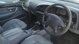 1997 Ford Fairmont EL Ghia Blue 4 Speed Automatic Sedan.