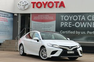 2020 Toyota Camry ASV70R SL Frosted White 6 Speed Sports Automatic Sedan.
