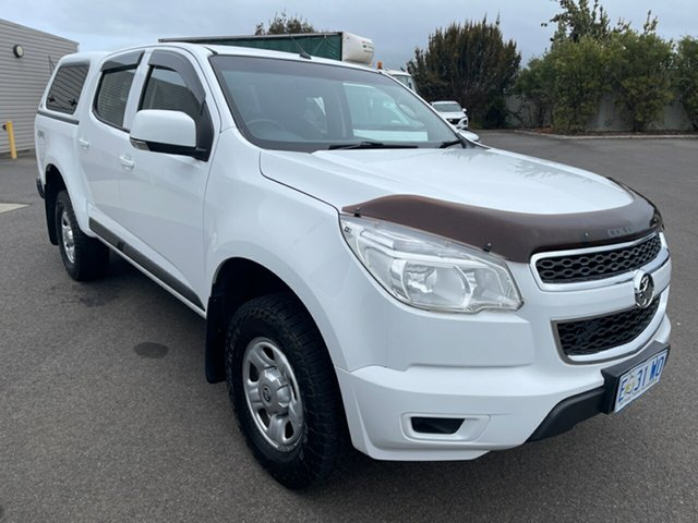 Used Holden Colorado RG MY16 LS Crew Cab Devonport, 2016 Holden Colorado RG MY16 LS Crew Cab Summit White 6 Speed Sports Automatic Utility