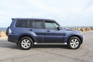 2008 Mitsubishi Pajero NS 25th Anniversary Blue 5 Speed Sports Automatic Wagon.