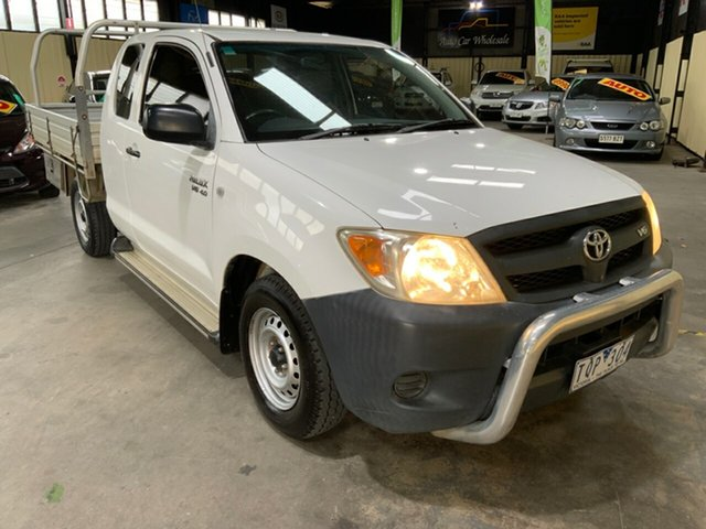 Used Toyota Hilux GGN15R SR Hampstead Gardens, 2005 Toyota Hilux GGN15R SR White 5 Speed Automatic X Cab Pickup