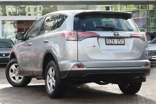 2016 Toyota RAV4 ZSA42R MY16 GX (2WD) Silver Continuous Variable Wagon.