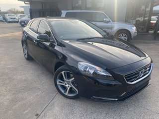 2016 Volvo V40 M Series MY16 T3 Adap Geartronic Kinetic Black 6 Speed Sports Automatic Hatchback.