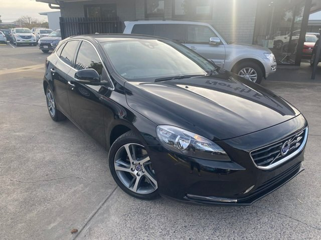 Used Volvo V40 M Series MY16 T3 Adap Geartronic Kinetic Hillcrest, 2016 Volvo V40 M Series MY16 T3 Adap Geartronic Kinetic Black 6 Speed Sports Automatic Hatchback