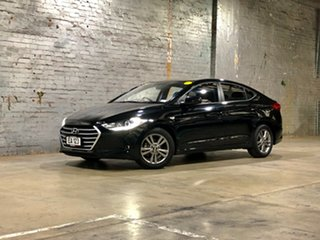 2015 Hyundai Elantra AD MY17 Active Black 6 Speed Sports Automatic Sedan.