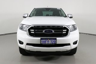 2019 Ford Ranger PX MkIII MY19.75 XLT 3.2 (4x4) Arctic White 6 Speed Automatic Double Cab Pick Up.