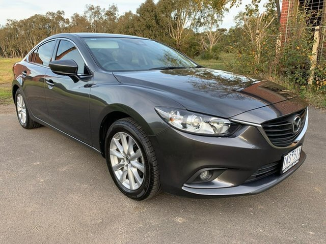 Used Mazda 6 Sport Geelong, 2017 Mazda 6 GL Series Sport Grey Sports Automatic Sedan