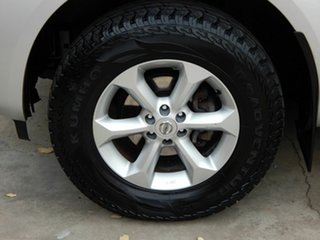 2010 Nissan Navara D40 MY10 ST-X Silver 5 Speed Automatic Utility.