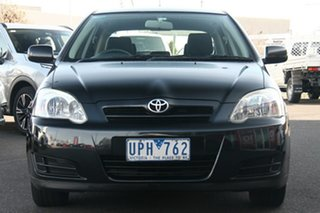 2006 Toyota Corolla ZZE122R 5Y Ascent Black 4 Speed Automatic Hatchback