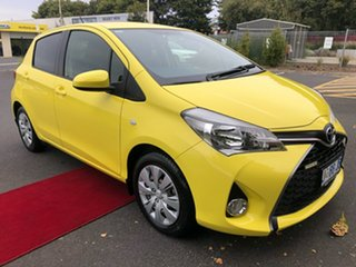 2016 Toyota Yaris NCP131R SX Yellow 4 Speed Automatic Hatchback