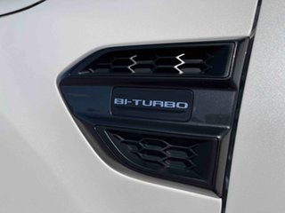 2020 Ford Ranger PX MkIII 2021.25MY Wildtrak Alabaster White 10 Speed Sports Automatic