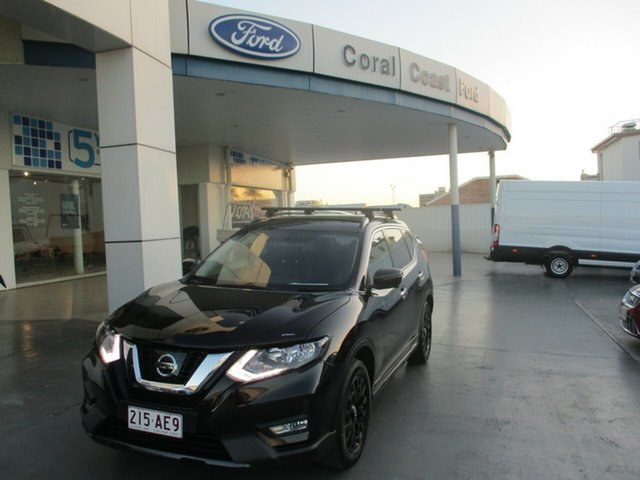 Used Nissan X-Trail T32 Series 2 ST-L (4WD) N-Sport Bundaberg, 2018 Nissan X-Trail T32 Series 2 ST-L (4WD) N-Sport Black Continuous Variable Wagon