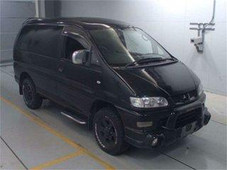 2005 Mitsubishi Delica PD6W Spacegear Chamonix Black Automatic Van Wagon.