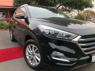 2016 Hyundai Tucson TLE Elite D-CT AWD Black 7 Speed Sports Automatic Dual Clutch Wagon.